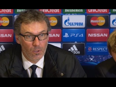 PSG - Laurent Blanc - Hopefully Ibrahimovic Will Be Available In The Next Game (Français/English)