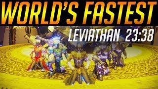 Destiny 2: World's fastest Leviathan raid (23:38) - By Euros