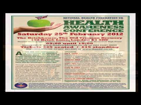 National Health Awareness Conference 2012 Ad
