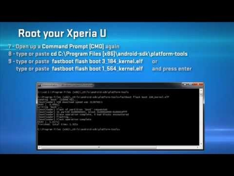 How To Root Xperia U