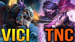 VICI vs TNC - DAC 2018 - GAME 1, 2 - SLARK PICK?? Dota 2