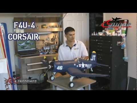 Unique Models F4U-4 Corsair BUILD GUIDE by: RCINFORMER