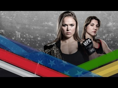 UFC 190: Rousey vs. Correia Media Conference Call