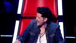 Aleks Josh FULL Blind Audition- I