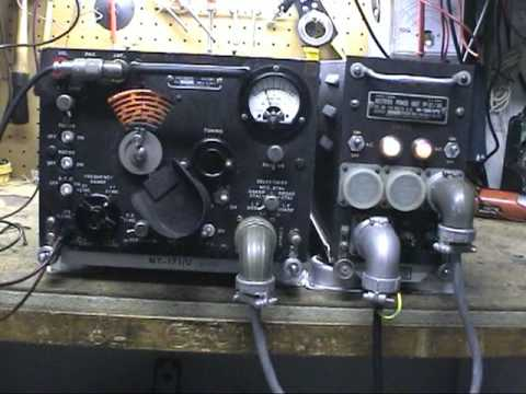 ARR-7 / R-45 WWII Aircraft Receiver with Motor Sweep Tuning