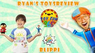 Blippi Toys versus Ryan's World Toys:  Spinwheel Game!!!