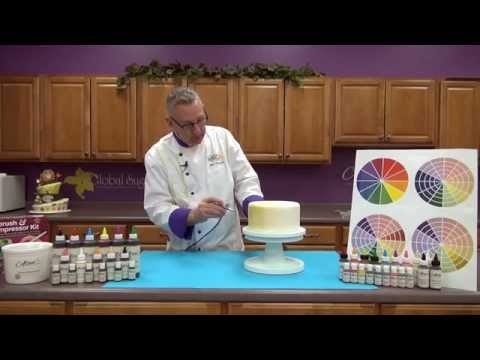 Using Food Coloring in Cake Decorating