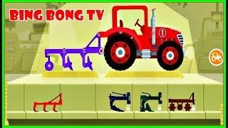 Hoạt hình hay nhất cho trẻ ❤ Nông trại, xe ô tô ❤ BingBong TV ❤ Video cartoon for kids and children