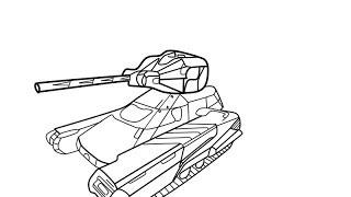 Раскраски для танках онлайн
