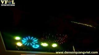 Trần sao nhân tạo - Hiệu ứng pháo hoa, sao băng