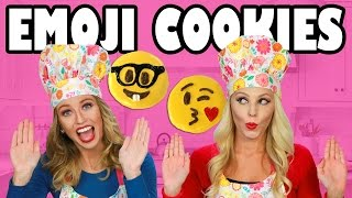 Emoji Cookies Baking for Kids with Jenn and Lindsey. Totally TV