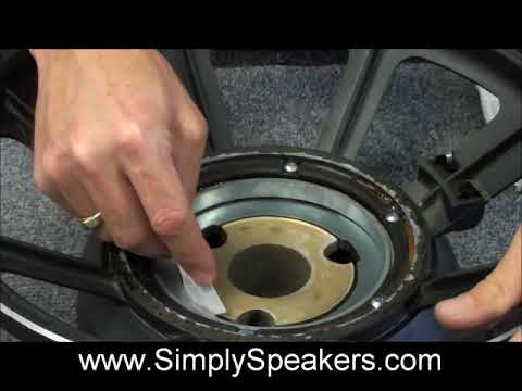 JBL Speaker 2226 Recone Repair Subwoofer