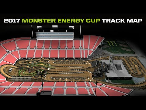 Brand New Design for 2017 Monster Energy Cup Track