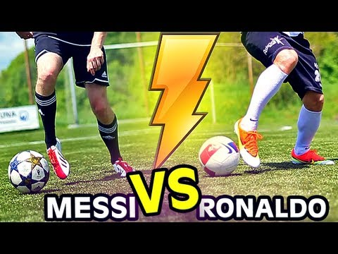 2013: Ronaldo vs. Messi Boots: Mercurial Vapor 9 vs. F50 adiZero   Free Kick Review   freekickerz
