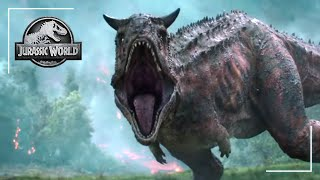 The Carnotaurus Scene | Jurassic World: Fallen Kingdom