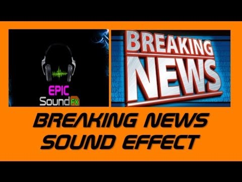 Breaking News Bulletin Sound Effect - Epicsoundfx video