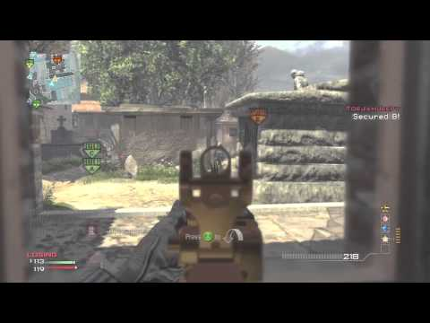 MW3: Objective MOAB w/ 4 Flag Caps On Sanctuary + Domination Tips!