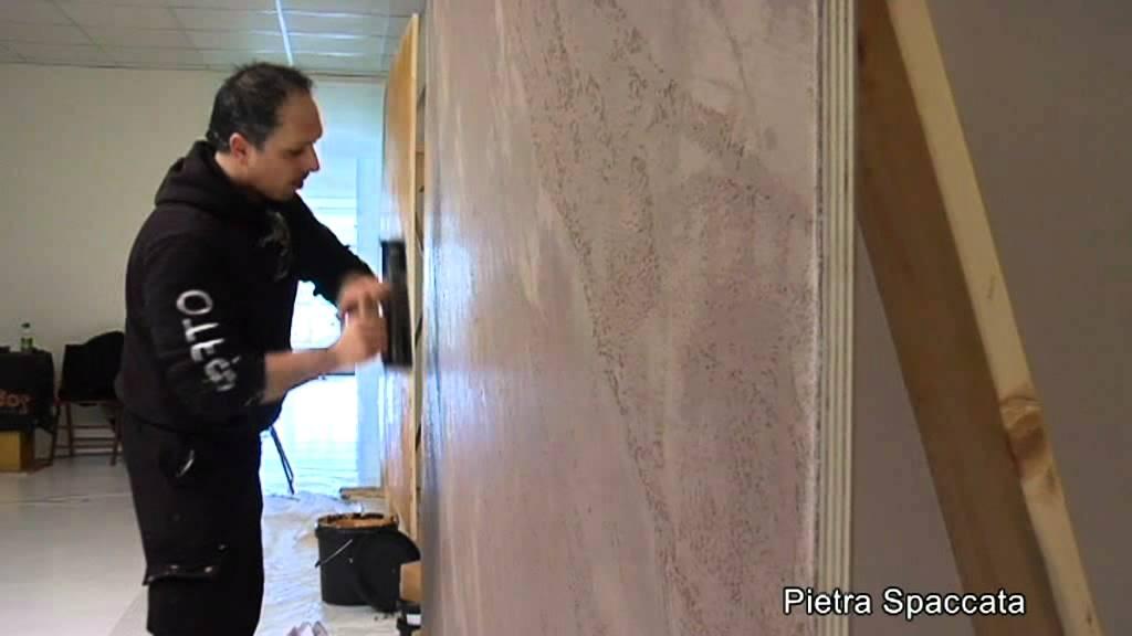 Istinto pietra spaccata youtube - Vernice per muro interno ...