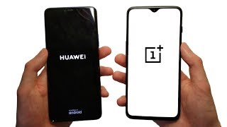 Huawei Mate 20 Pro vs OnePlus 6T Speed Test, Cameras & Speakers!