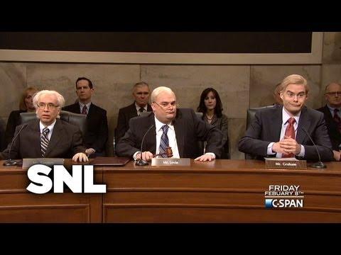 Dress Rehearsal: C-Span Chuck Hagel Hearings - Saturday Night Live