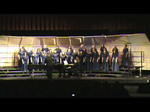 "Labay Middle School Choir -  ""Hine Ma Tov"" - 2008 Christmas Concert"