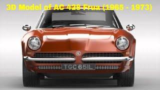 3D Model of AC 428 Frua (1965 - 1973)