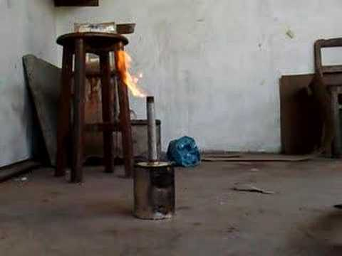Updraft Gasifier Homemade Updraft Gasifier