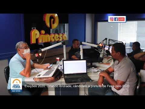 Eleições 2020: Orlando Andrade, candidato a prefeito de Feira de Santana pelo PCO