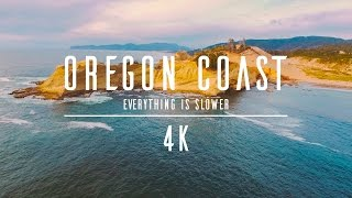 4K - Drone - Oregon Coast - Everything is slower