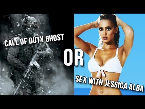 Call Of Duty Ghost Or Sex With Jessica Alba? video