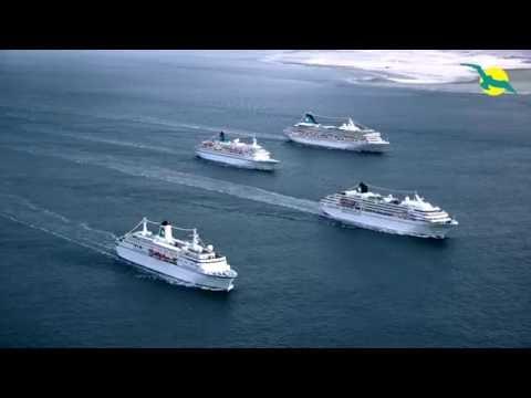 4 PHOENIX Kreuzfahrtschiffe - Spektakulärer Viereranlauf In Bremerhaven | Phoenix Reisen TV #68