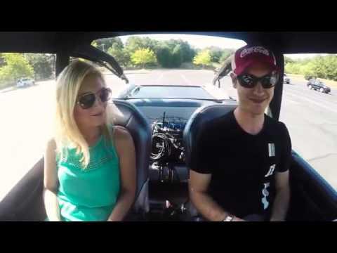 Joey Logano Takes Danielle Trotta for a ride in his WaterCar thumbnail