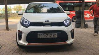 MUA BÁN OTO CŨ   Giới thiệu xe Kia Morning VAN 2017 độ siêu đẹp