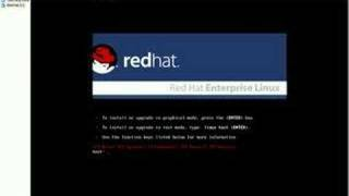 Installing Red Hat over VmWare - part 1