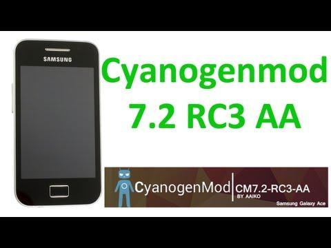 Cyanogenmod 7.2 RC3 AA: review completa en un Samsung Galaxy Ace - TheVigoFlax