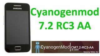 Samsung Galaxy Ace Android Cyanogen Mod 7 Скачать