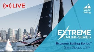 LIVE Sailing   Extreme Sailing Series™   San Diego, USA   Sunday 21 October 2018