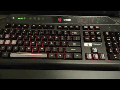 Cyborg V7 Gaming Keyboard Unboxing and Review (Saitek)