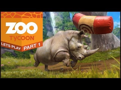 Zoo Tycoon (Xbox One)   Let's Play #1   Oh. My. God. It's SO CUTE.