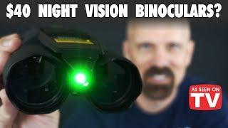 Night Hero Review: Night Vision Binoculars? *As Seen on TV*