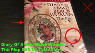 ✅  Diary Of A Mad Black Woman The Play DVD by Tyler Perry Review