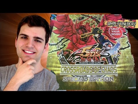 Best Yugioh 5ds Crossroads Of Chaos Booster Box Opening Ever! (special Edition) video