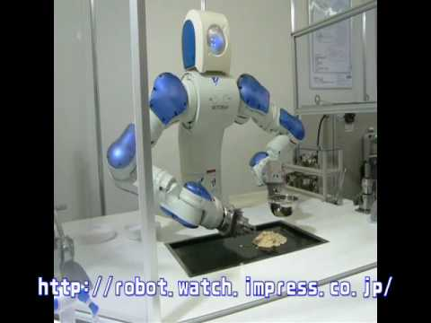 Motoman Robot Makes Okonomiyaki