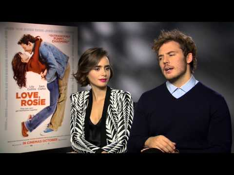 Sam Claflin & Lily Collins Love, Rosie Interview
