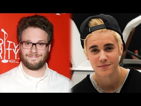 Justin Bieber BEGS Seth Rogen to Roast Him on Comedy Central
