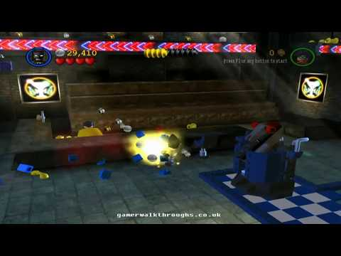 Lego batman walkthrough - In the dark night [1/2]
