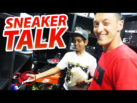 Sneaker Talk With Mesut Ozil The Best German Soccer Player!!!