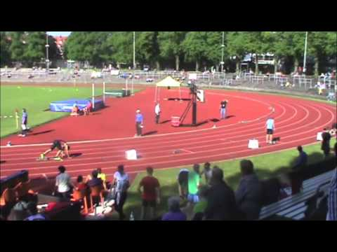 Pfingstmeeting München - 400m men - heat 1 - Philipp Kleemann 47,32 sec.