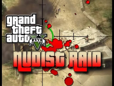 Nudist Raid In Gta 5 - Trolling funny raid - Goononfire video