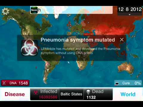Plague Inc. Cheat: Unlimited Plague
